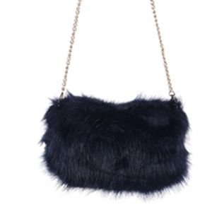 Handbags - FAUX FUR HANDWARMER AND CLUTCH  BAG ACCESSORY